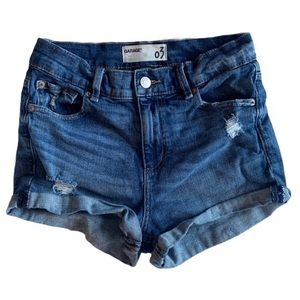 Garage retro high waist shorts